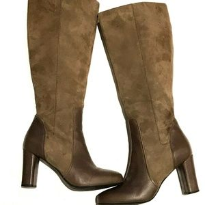 Clarks Loyal Pearl Women's Knee High Boots Brown 7